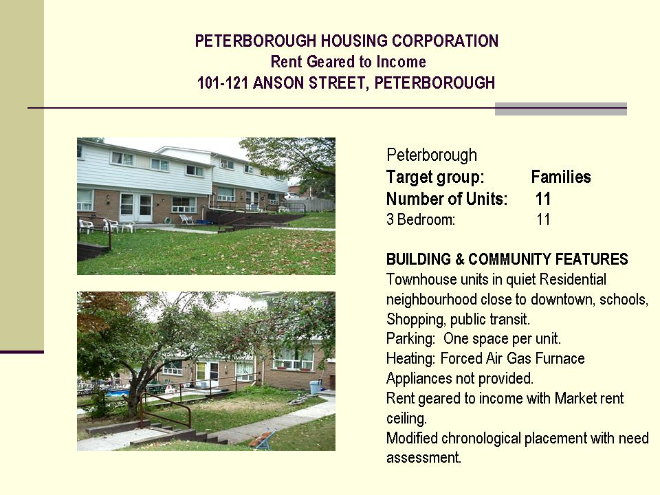 lakefield senior singles Other affordable/rent geared to income housing (wait list managed by each provider) other affordable/rent geared to income housing housing for singles.